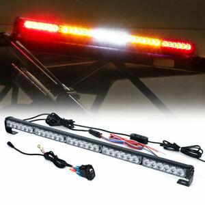 """30""""Inch Rear Chase LED Light Bar Brake Reverse Running for ATV UTV Polaris RZR"""