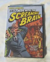 Man With The Screaming Brain (DVD, 2004) New, Bruce Campbell, Still sealed
