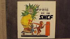 """Vieille petite bande dessinée """"Bogie et la SNCF"""""""