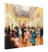 An Elegant Soiree by Victor Gilbert Fine Art CANVAS Print Giclee Gallery Wrap