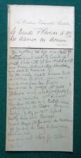 Countess Edmond de Pourtales Annotated Calling Card Mistress of King Edward VII