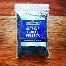 Marine Coral Pellets 20g LPS Marine Fish Acan Ricordea Scolymia