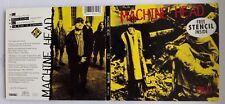 MACHINE HEAD OLD DIGI CD MAXI SINGLE 1993 + MH CARDBOARD STENCIL. PANTERA BURN
