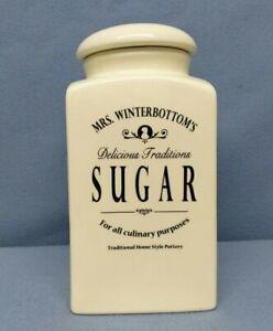 BUTLERS MRS. WINTERBOTTOM'S Vorratsdose Sugar Zuckerdose Creme Vintage 1,3 l TOP