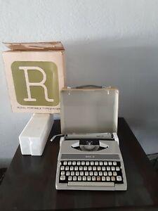 Royal MERCURY Typewriter With Original Box