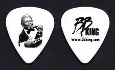 B.B. King Photo White Guitar Pick #2 - 2008 Tour