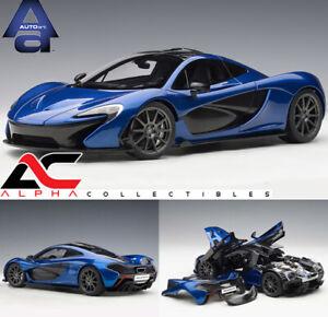 AUTOART 76061 1:18 MCLAREN P1 (AZURE BLUE) SUPERCAR