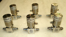 Lot of 6 APTECH AP3550SM 2PW MV4 MV4 DIAPHRAGM VALVE REGULATOR 250/300 PSI