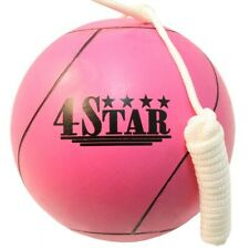 Official Tether Ball Pink w/ Rope Included Outdoor Sports Playground Tetherball