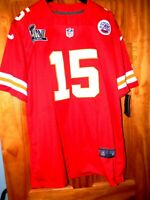 Brand New w/ Tags PATRICK MAHOMES Kansas City Chiefs SUPERBOWL 54 Jersey, LARGE