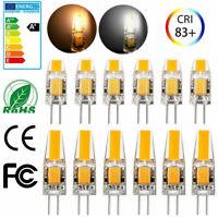 100/50/10X G4 LED COB 2W 3W Lampe Birne Leuchtmittel Warmweiß Kaltweiß AC/DC 12V