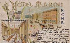 #ROMA - HOTEL MARINI