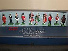 Britains 00093 tutte le Regine Uomini London cerimoniale METAL Toy Soldier Figure Set