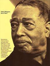 Duke Ellington Jazz Piano Sheet Music Piano Solo NEW 000294027