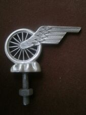 flying tire, soap box derby, ratrod, hotrod, car hood ornament bycycle