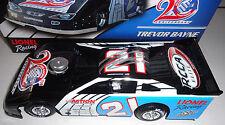 Trevor Bayne 2012 Lionel #21 ARC Anniversary Autographed Dirt Car 1/24 FREE SHIP