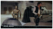 STAR WARS 3Di CARD 19 HAN SOLO PREPARING FOR SPACE TRAVEL! 1996 Topps Widevision