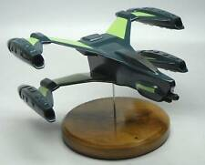 Thunderbolt Starfury Babylon-5 Spaceship Mahogany Kiln Wood Model Small New
