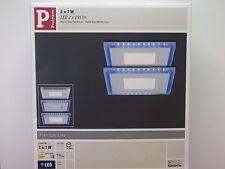 PAULMANN-PREMIUM-LINE-2er-SET-LED-7-W-LED-2 x 255-lm-Eckig, 927,10
