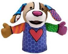 Romero Britto PABLO THE PUPPY Hand Puppet Enesco 4027993