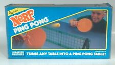 Vintage 1980s Parker Brothers Game Nerf Ping Pong Table Tennis