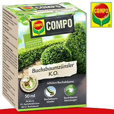 COMPO Buchsbaumzünsler K.O 50 ml Insektizid Buchsbaumhecke Buchsbaum