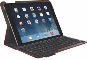 Logitech Type+ Protective Case w/Keyboard iPad Air 1ST Gen 920-006558 (Red)