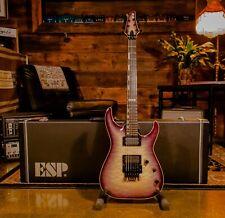 ESP E-II Horizon FR Electric Guitar with Case - Black Natural Burst