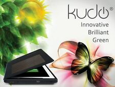 KudoCase Solar Powered Charging Case with HDMI Port for iPad 2 / 3 - Black