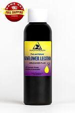 Lecithin Sunflower Unbleached Fluid Liquid Emulsifier Emollient Pure 2 Oz