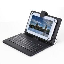 Foldable Folio Magnetic Leather Case Cover Holder with Keyboard Stylus Pen N4X5
