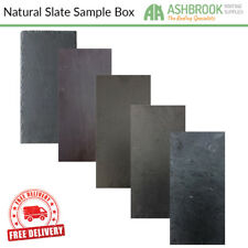 Natural Roof Slates | Slate Roof Tiles | Natural Roofing Slate Sample Box