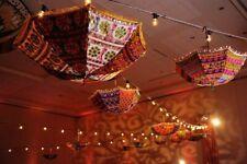 Cotton Handmade Wholesale Lot Parasol  Indian Umbrella 10pc -Wedding Decorative