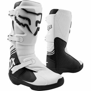 New 2021 Fox Racing Comp Boots White Multiple Sizes MX ATV Dirt Offroad
