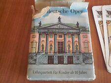"""DDR Kartenspiel """" Deutsche Oper """""""