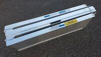 Laderampe /Brücke - ALU - Rollstuhl - Überfahr-, klappbar - faltbar 213 x 73 cm