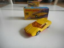 Matchbox Superfast Datsun 126X in Yellow in Box