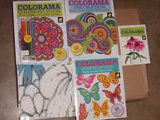 Colorama Adult Coloring Book Decoration Inspiration 12 Pencils Gift