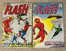 New ListingFlash #129 & 131 ~ Green Lantern & Golden Age Flash crossovers from 1962 ~ Nice!