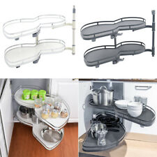 Kitchen Corner Cabinet Cupboard Pull Out Storage Unit Carousel Soft Close Rack