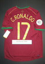 2006 Nike Portugal Cristiano Ronaldo Home Authentic World Cup Jersey Shirt Kit