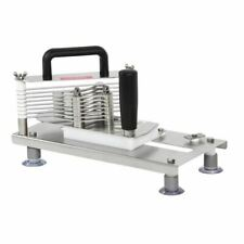 More details for tellier tomato food slicer cutter for - dishwasher safe - heavy duty 5mm slices