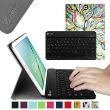 PU Leather Case Cover with Bluetooth keyboard for Samsung Galaxy Tab Tablet