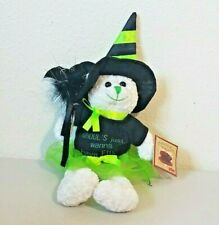 "PBC Chantilly Lane GHOULS JUST WANNA HAVE FUN Musical Halloween Bear 11"" NWT"
