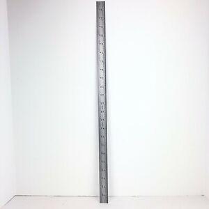 "Vintage FOWLER 24"" 824S Flexible Steel Ruler Rule Made in England"