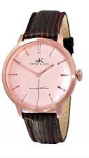 Adee Kaye AK2225-MRG/RG Mens Watch Rose Gold Dial Rose Gold Stainless Steel Case