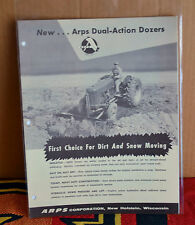 VTG 1960s Advertising Arps Dual Action Dozers Brochure N