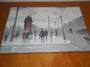 Pariser Boulevard - Impressionist - sign.