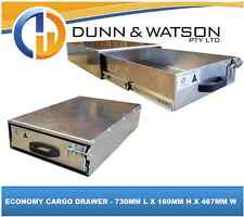 ECONOMY CARGO DRAWER - 730MML X 160MM H X 467MM W (MODULAR, VEHICLE, 4WD, 4X4)
