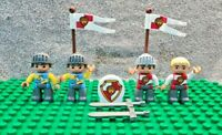 LEGO DUPLO Knights Royal Castle Mixed Figure Bundle  **Free UK Delivery**